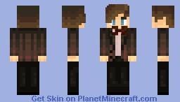 Matt Smith ~ Eleventh Doctor ~ WoOoOoO!! Minecraft Skin