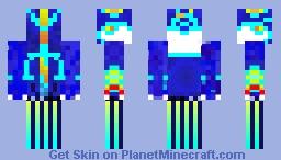 Primal Kyogre Minecraft Skin