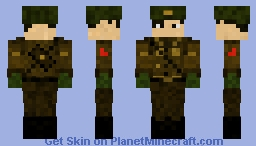 North Korean Soldier Minecraft Skin - Skins para minecraft pe kpop