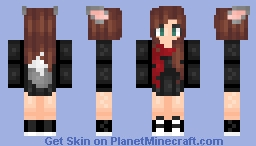 Wolf Girl ~мιѕѕ∂єℓιяισυѕ Minecraft Skin