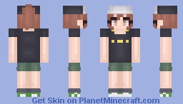 Misaka Mikoto -  A Certain Scientific Railgun Minecraft Skin
