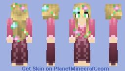 Rapunzel(Short Hair)- Tangled Minecraft Skin