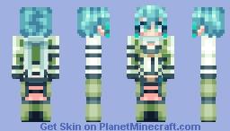 Sinon - SAO Minecraft Skin