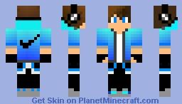 Nike Boy Headset Minecraft Skin - Skins para minecraft pe boy