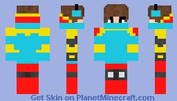 cool guy! Minecraft Skin