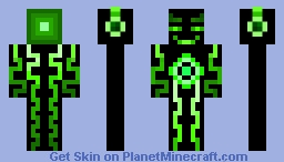 Green Neonplex (Original) Minecraft Skin