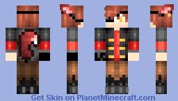 Human Foxy FNAF ~ =3 Minecraft Skin
