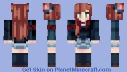 тєє ♥ Cute Uniform Minecraft Skin