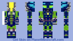 Hahli Mahri Minecraft Skin
