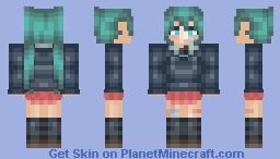Hatsune Miku - Rolling Girl 【Vocaloid】 Minecraft