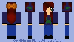 Seahawks Gamer Girl Minecraft Skin