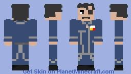 King Bradley (Fullmetal Alchemist) Minecraft