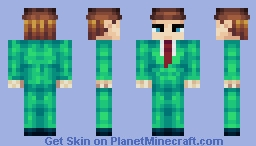 My New Mascot (Hey, I Post Things) Minecraft Skin