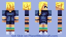 Me new OC Minecraft Skin