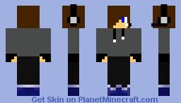 Teen Gamer Boy Minecraft Skin