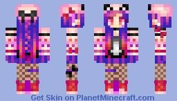 Panda Love Minecraft Skin