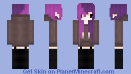 :purple n pink hair: Minecraft Skin