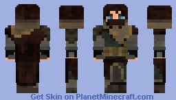 Medieval Adventurer/Ranger Minecraft Skin