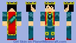 Sir Lancelot Skin. Minecraft Skin