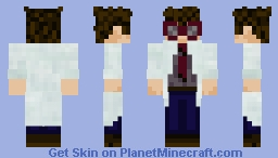 The Puzzle Scientist - Past Minecraft Skin