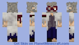 The Puzzle Scientist - Future Minecraft Skin