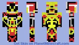 E-TRON Minecraft Skin
