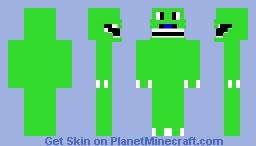 Happy Dinosaur Minecraft Skin