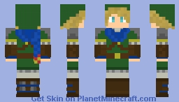 Link (Hyrule Warriors) Minecraft