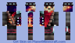 War - The Second Horsemen Minecraft Skin