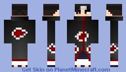 Akatsuki Minecraft Skin