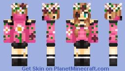 New OC: Ariella (Updated) Minecraft Skin