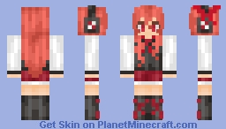 Chelsea From AkameGaKill Minecraft Skin