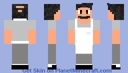 Bob From Bob's Burgers Minecraft Skin