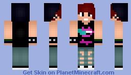 Falling In Reverse Fan (MALE) Minecraft Skin