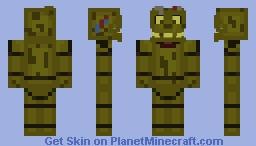 FNaF 3 Animatronic! Minecraft Skin
