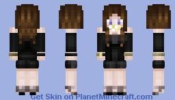 Miss Ataxia 1.8+ Alex Minecraft Skin