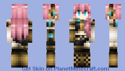 VOCALOID: Megurine Luka [ORIGINAL] Minecraft Skin
