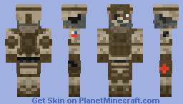 Marine 2.0 Minecraft Skin