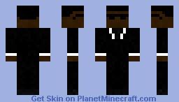 Mib - Agent J Minecraft Skin