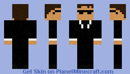 Mib - Agent K Minecraft Skin