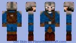 Viking Warrior Minecraft Skin