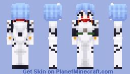 Neon Genesis Evangelion - Rei Ayanami Minecraft Skin