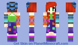 Sockrael Fanskin - First time using FennecFox's Shading (Posted second) Minecraft Skin