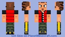DDR Rage (3rdMIX) Minecraft Skin