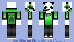 Panda Peak Minecraft Skin