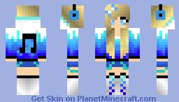 music girl Minecraft Skin