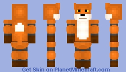 Skin Request - Custom Animatronic - WildtheDJFox