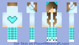 Minecraft pajama girl skins