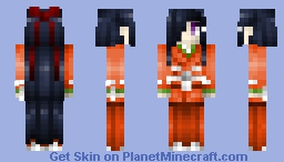 Mirai Nikki: Tsubaki Kasugano (Sixth) Minecraft Skin