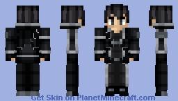 [Sword Art Online] Kirito Minecraft Skin